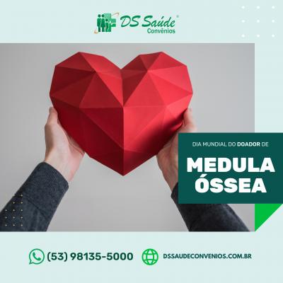 Dia Mundial do Doador de Medula Óssea - Clínica DS Saúde, Clínica em Pelotas, DSSaudeConvenios.com.br